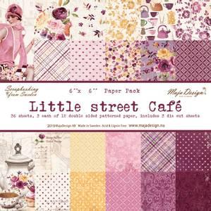 Bilde av Maja Design - 1080 - Little street café - 6x6 Paper Pack