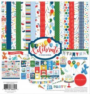 Bilde av Carta Bella - Let's Celebrate - 12x12 Collection Kit