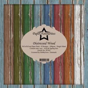 Bilde av Paper Favourites - 12x12 Paper Pack - PF365 - Distressed Wood