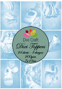 Bilde av Dixi Craft - Dixi toppers - ET0116 - Baby Shoes Blue