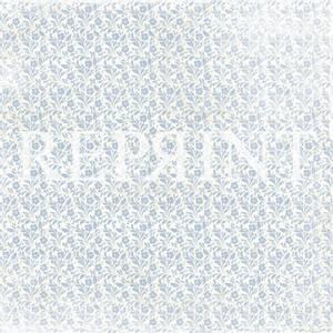 Bilde av Reprint - 12x12 - RP0260 - Dusty Blue - Small Blue Flowers