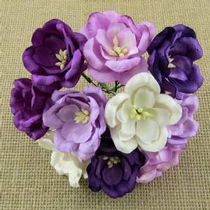 Bilde av Flowers - Magnolias - SAA-422 - Mixed Purple/Lilac - 50stk