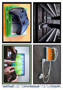 Bilde av Barto Design - Klippeark A4 - 067986 - Gaming