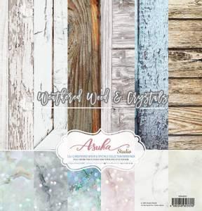 Bilde av Memory Place - Weathered Wood & Crystals - 12x12 Paper Pack