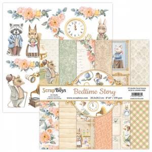 Bilde av ScrapBoys - Bedtime Story - 8x8 - Paper pad