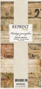 Bilde av Reprint - Slimline Paper Pack - RPS009 - Vintage Pumpkin