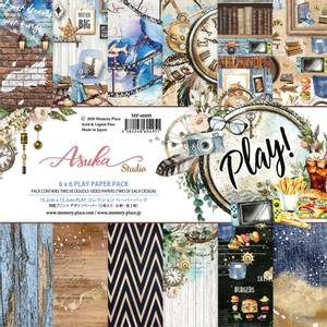 Bilde av Memory Place - Play! - 6x6 Paper Pack
