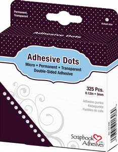 Bilde av Scrapbook Adhesives - Adhesive Glue Dots - Micro - 3mm - 325stk