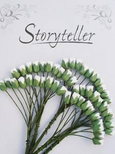 Bilde av Storyteller - Roseknopp - Hvit - 4mm - 1920