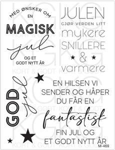 Bilde av Kort & Godt - M-469 - Magisk jul