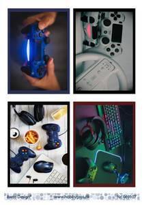 Bilde av Barto Design - Klippeark A4 - 069107 - Gaming 2